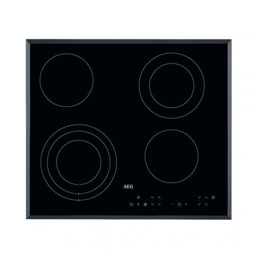 AEG HK634030FB inbouw keramische kookplaat met Stop&Go warmhoudfunctie
