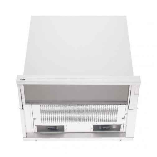 AEG 700D-W motorloze vlakscherm afzuigkap tbv mechanische ventilatie