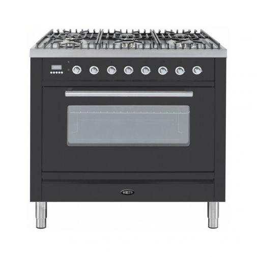 Boretti VT96AN gasfornuis met Quickstart oven