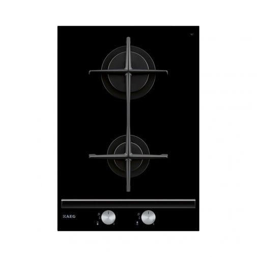 AEG HC412000GB CrystaLline inbouw 2 pits gaskookplaat domino aktie op = op!