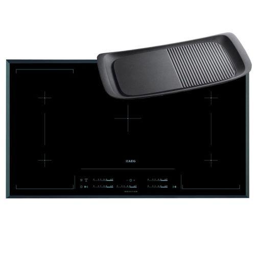 AEG HK955423FB inbouw inductie kookplaat met gratis MAXI-GRILL grillplaat