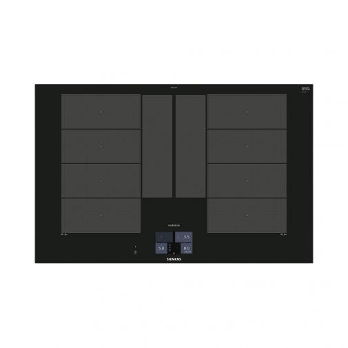 Siemens EX877KYX5E inbouw inductiekookplaat met HomeConnect en flexInduction