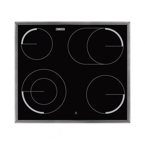 Zanussi ZEV6046XBA inbouw keramische kookplaat t.b.v ZOU20311XU fornuisoven ACTIE op=op!