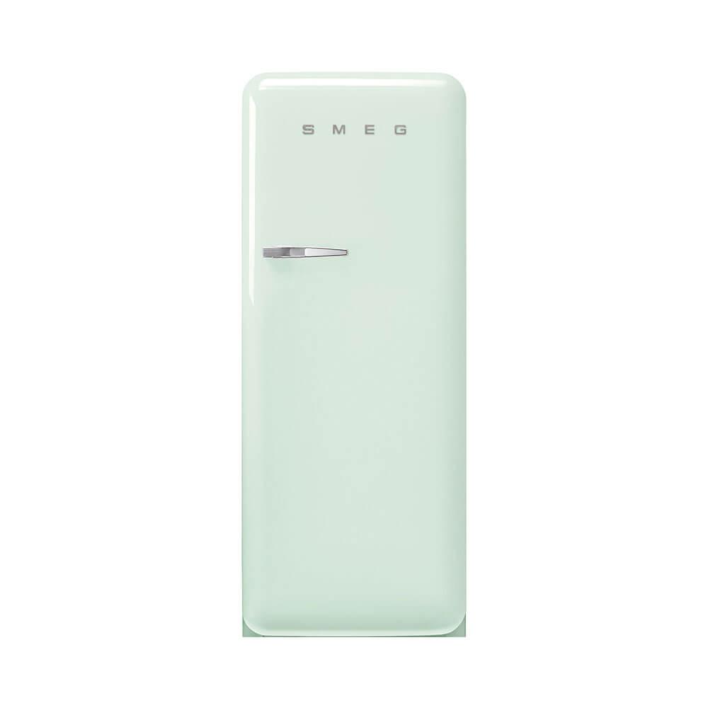 Smeg FAB28RPG5 koelkast retro 50 apos s style met vriesvak, rechtsdraaiend, watergroen