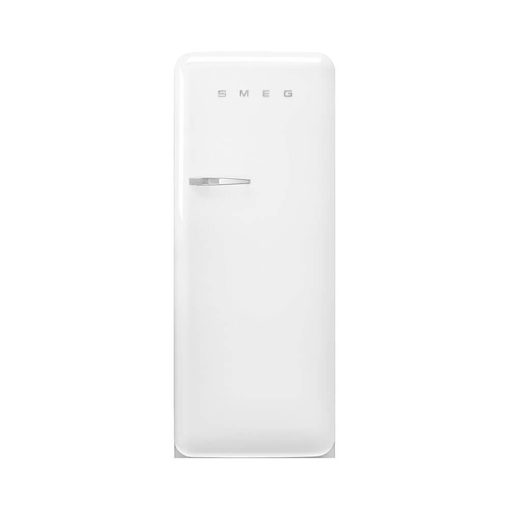 Smeg FAB28RWH5 koelkast retro 50 apos s style met vriesvak, rechtsdraaiend, wit