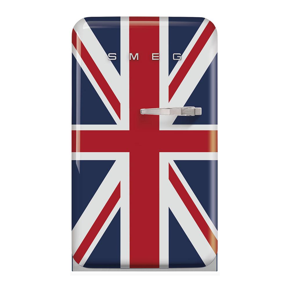 Smeg FAB10LDUJ5 koelkast met vriesvak, linksdraaiend, blauw UK vlag