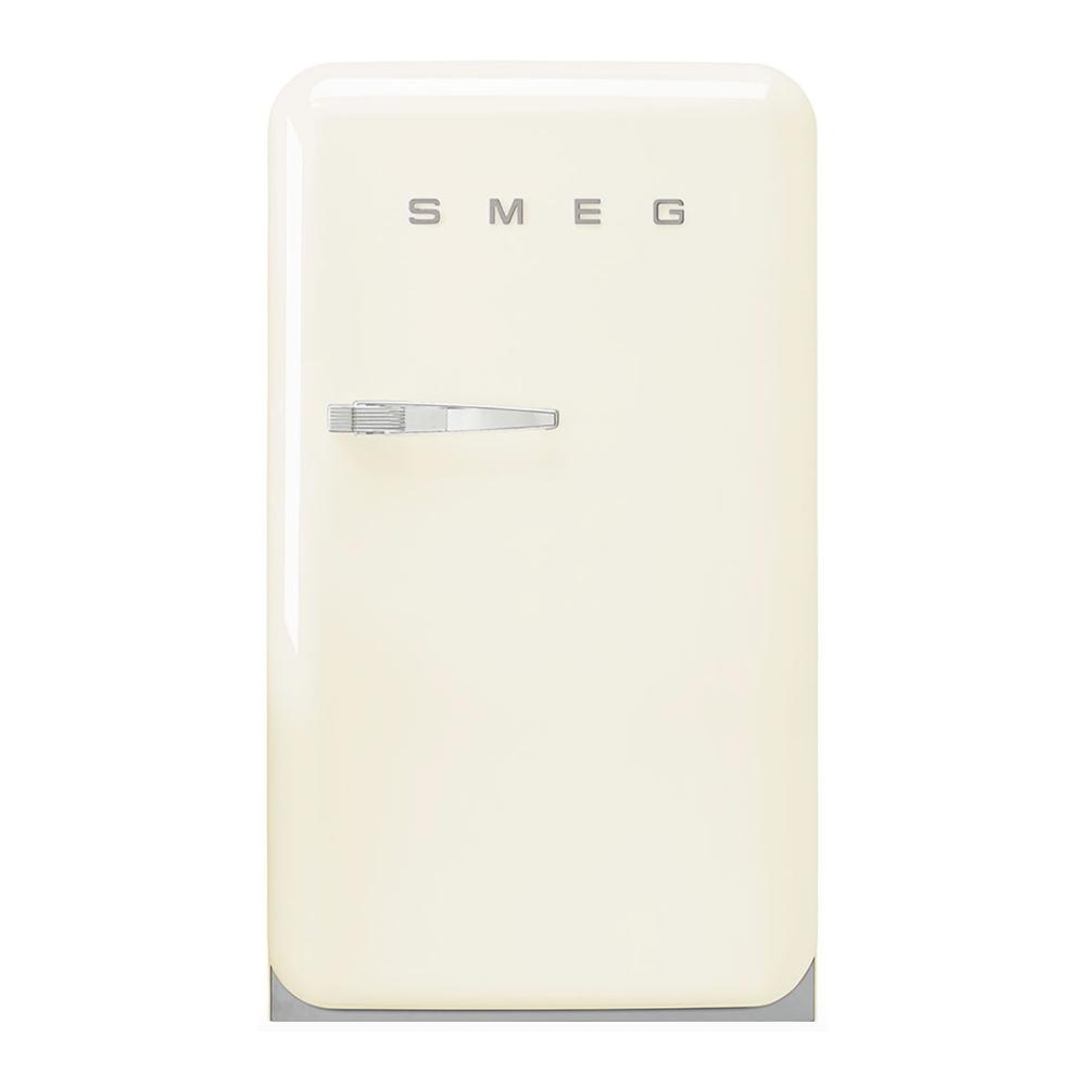 Smeg FAB10RCR5 vrijstaande koelkast met vriesvak, rechtsdraaiend, crème