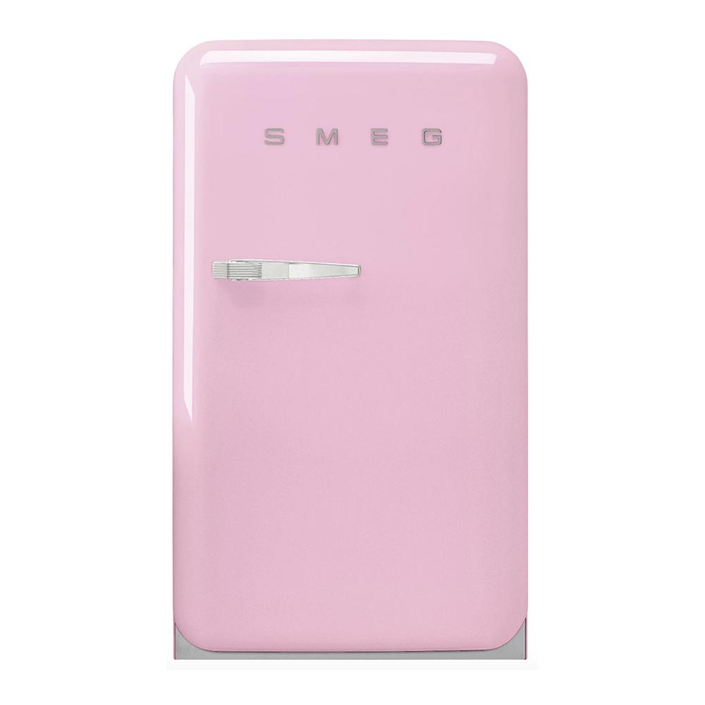 Smeg FAB10RPK5 koelkast met vriesvak, rechtsdraaiend, roze