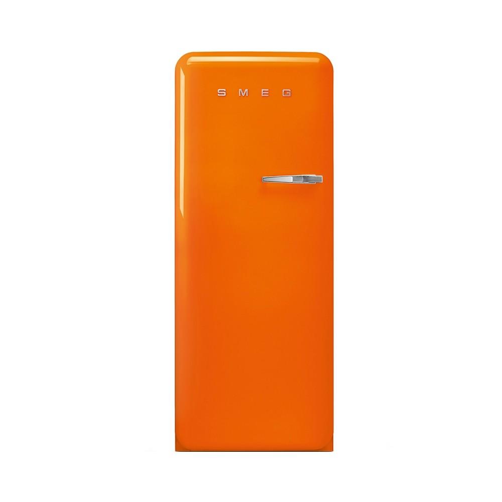 Smeg FAB28LOR3 koelkast met vriesvak, Linksdraaiend, Oranje