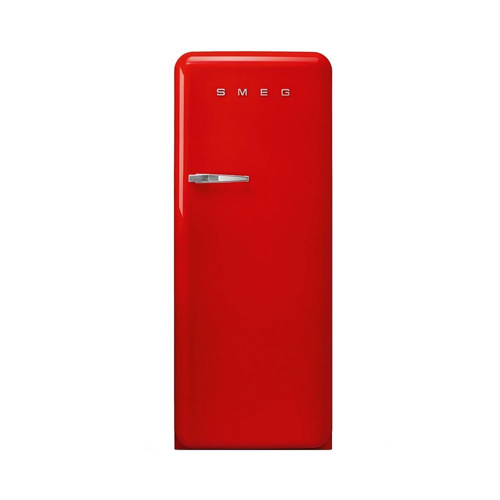 Smeg FAB28RRD5 koelkast rood met diepvriesvak en rechtsdraaiende deuren