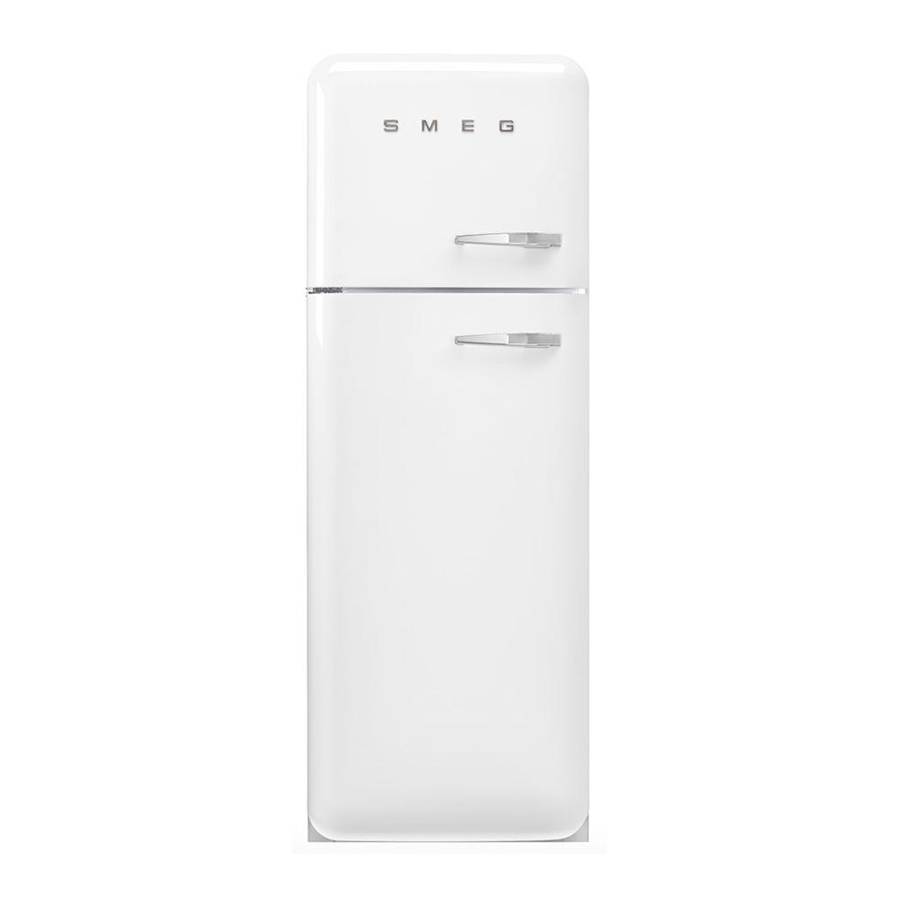 Smeg FAB30LWH5 vrijstaande dubbeldeurs koelkast, linksdraaiend, wit