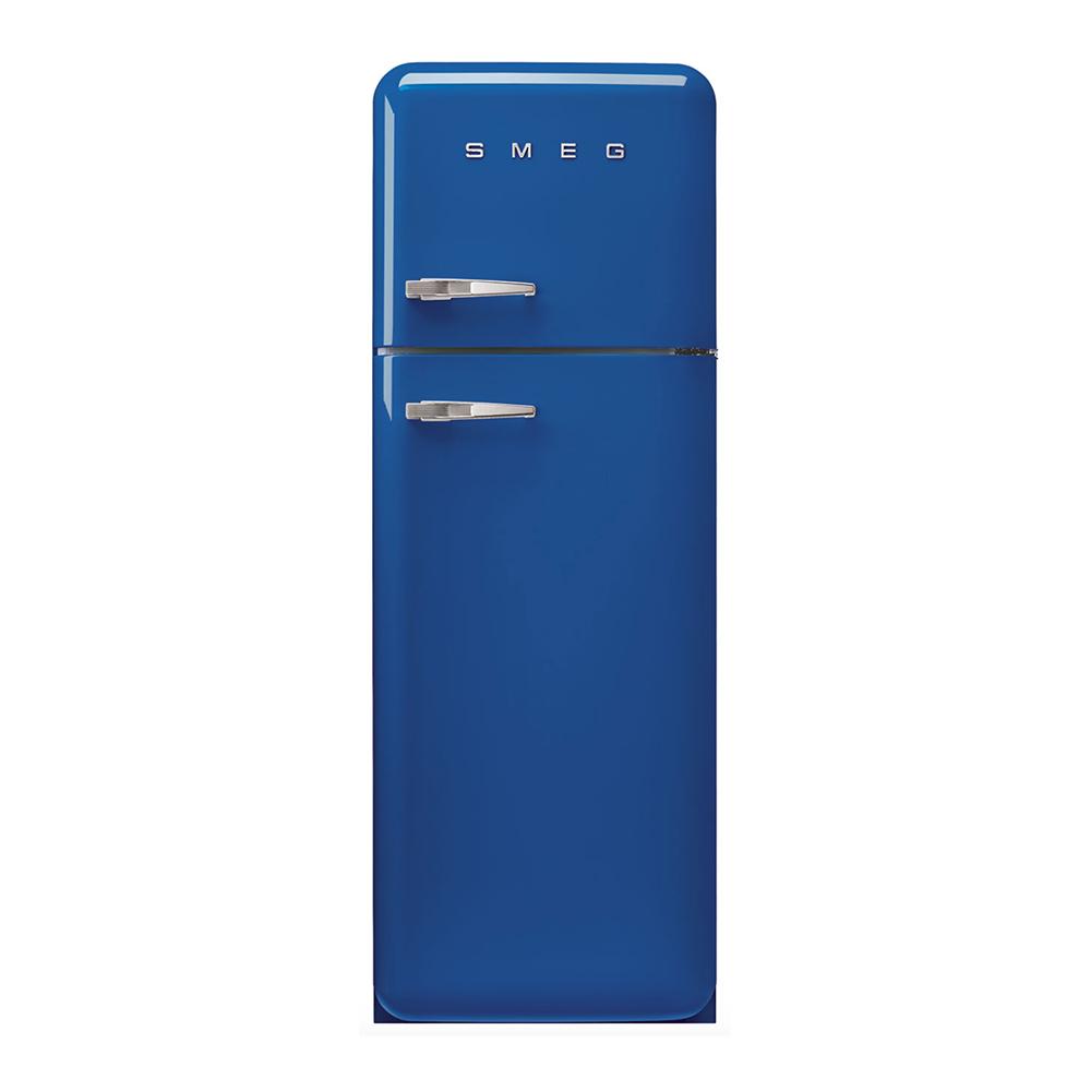 Smeg FAB30RBE5 vrijstaande dubbeldeur koelkast, rechtsdraaiend, blauw
