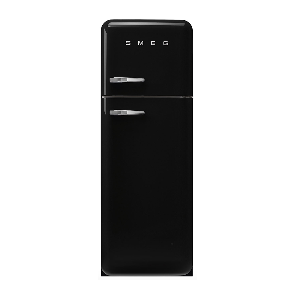 Smeg FAB30RBL5 vrijstaande dubbeldeurs koelkast, rechtsdraaiend, zwart