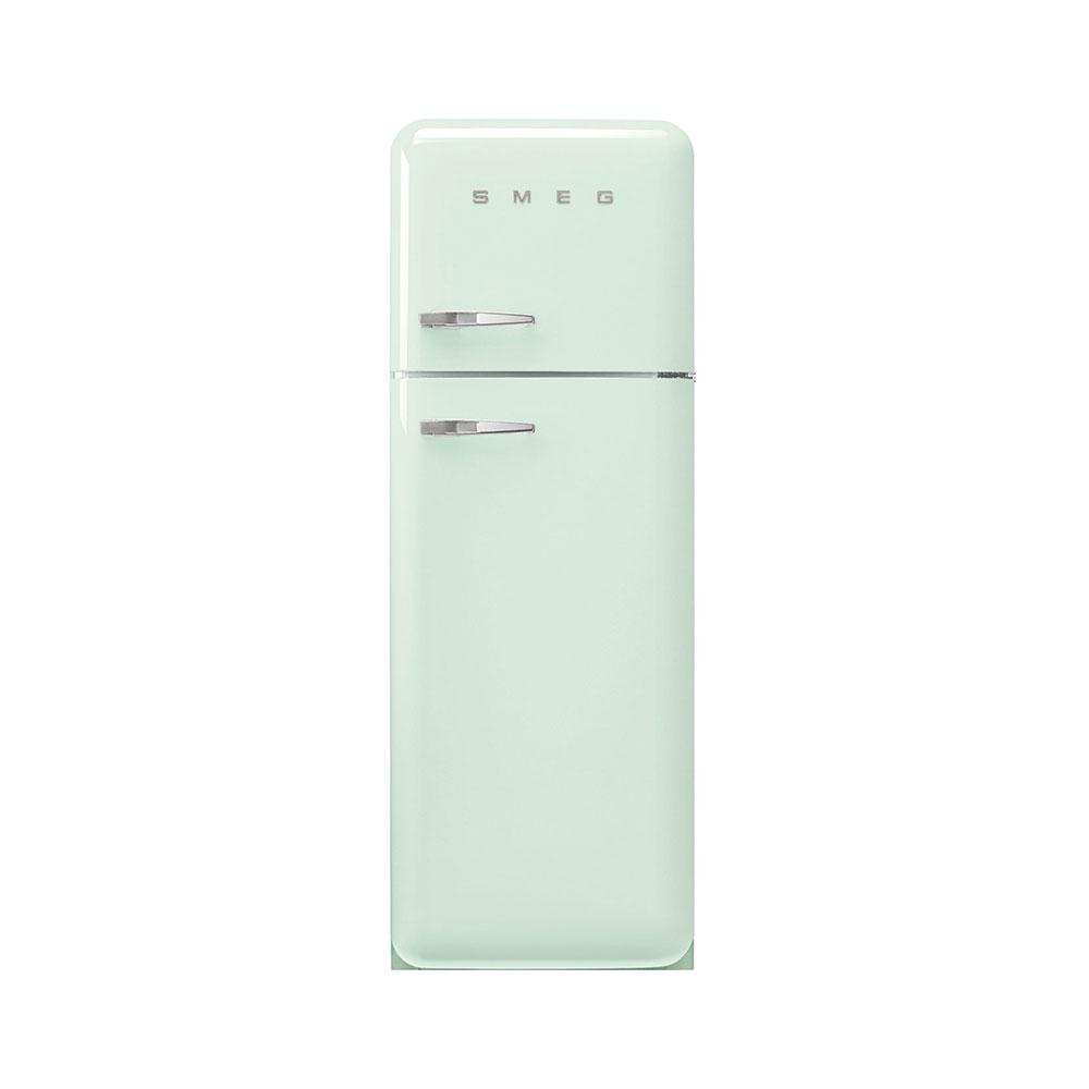 Smeg FAB30RPG5 vrijstaande dubbeldeurs koelkast, rechtsdraaiend, watergroen