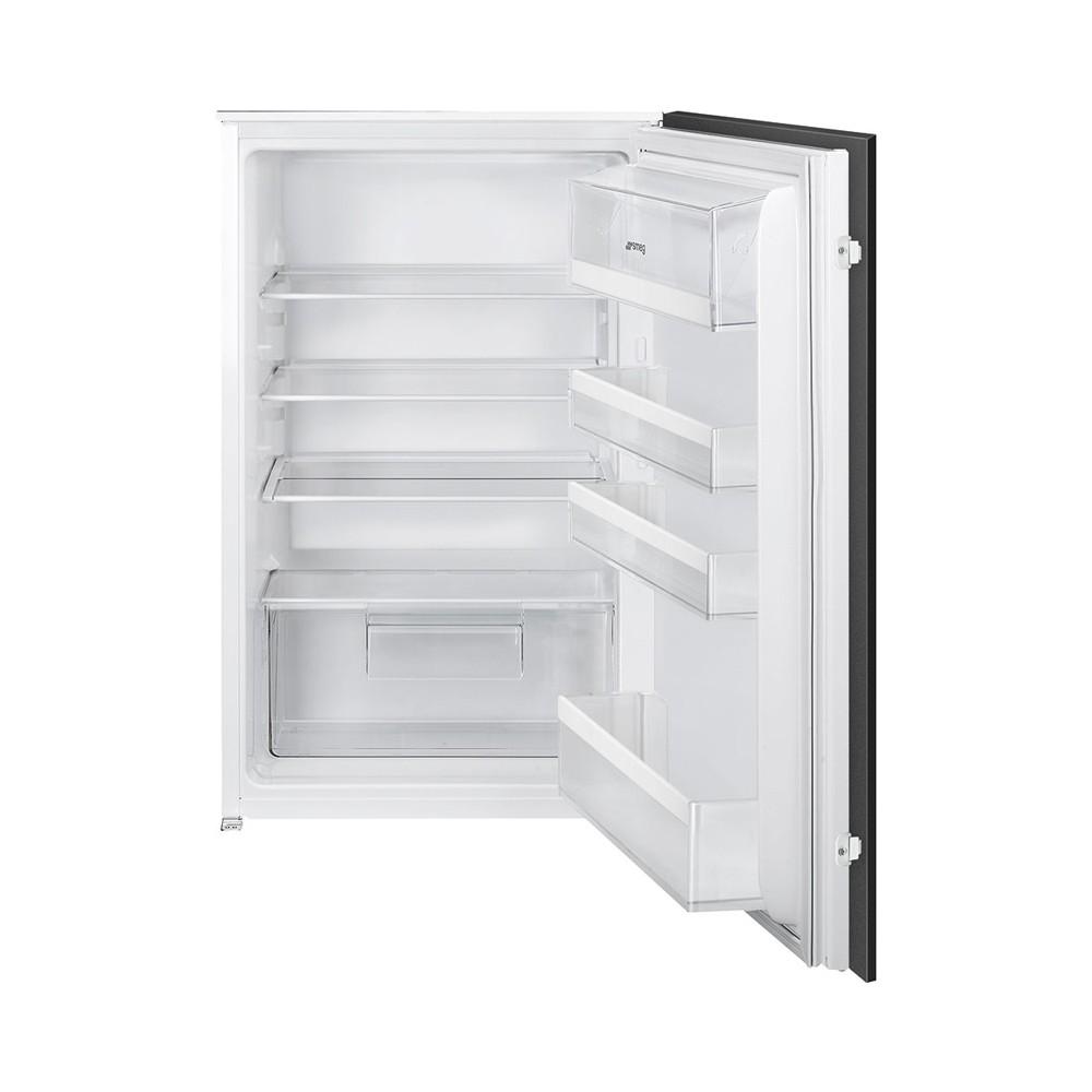 Smeg S3L090P1 inbouw koelkast met LED verlichting en 146 liter inhoud