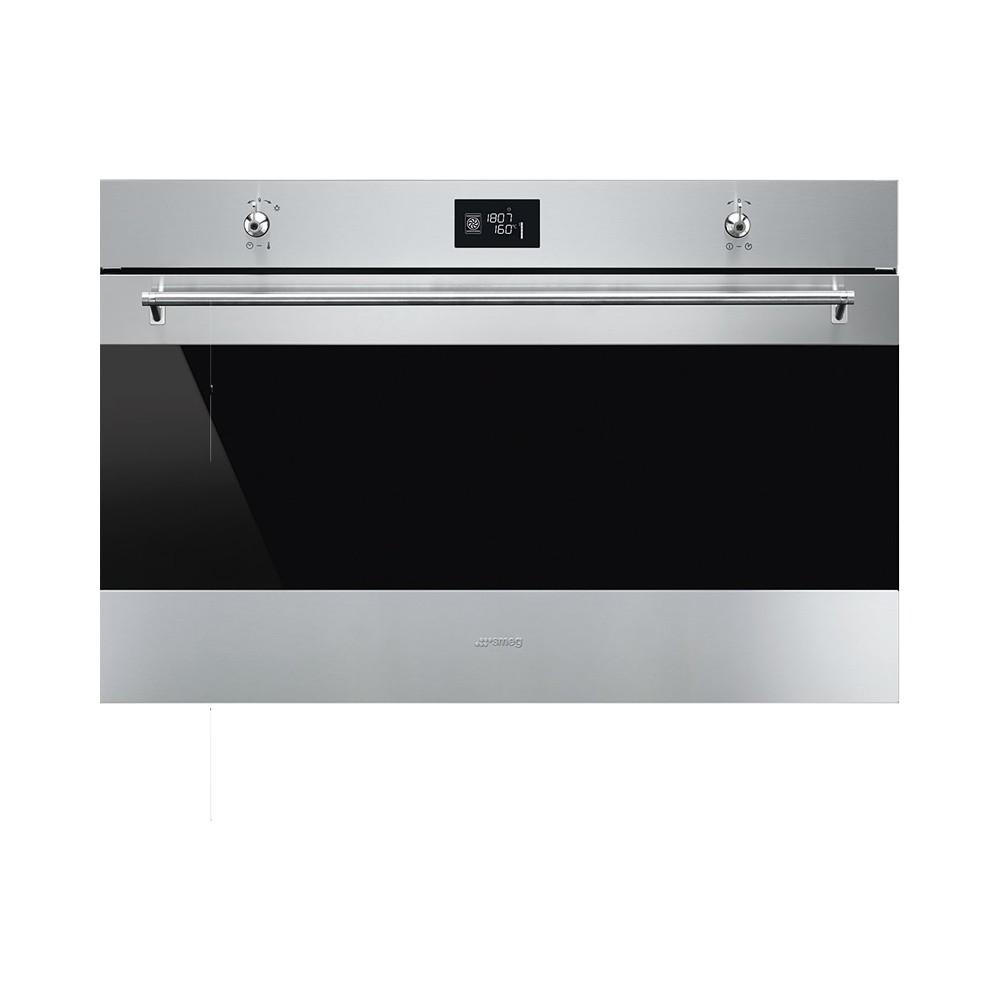 Smeg SF9390X1 inbouw oven 90 cm breed met Vapor Clean